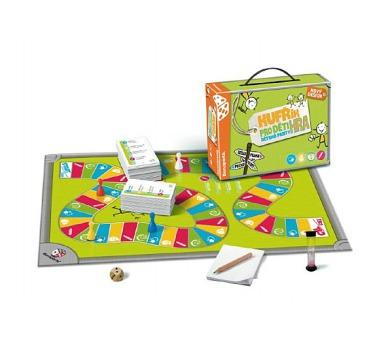 Kufřík/Kufr pro děti společenská hra v kufříku 28x20x6,5cm
