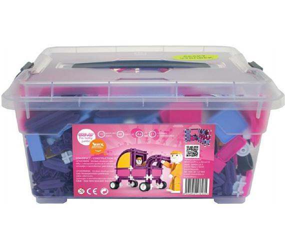 Stavebnice Seva pro holky 1 Jumbo plast 1172ks v plastovém boxu + DOPRAVA ZDARMA
