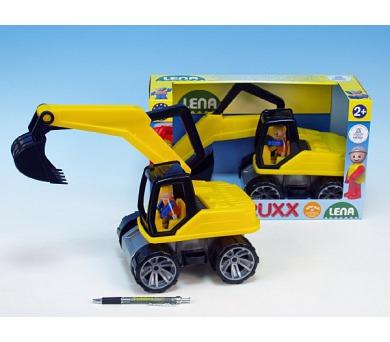 Auto Truxx bagr plast 35cm v krabici od 24 měsíců