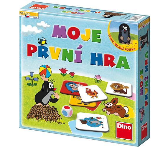 Moje první hra Krtek společenská hra v krabici 29x29x7cm