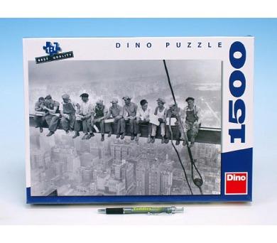 Puzzle Dělníci na traverze 84x60cm 1500 dílků v krabici 37x27x5cm + DOPRAVA ZDARMA