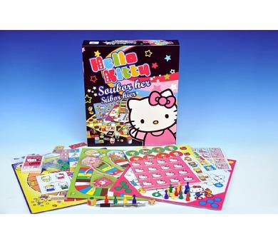 Soubor her Hello Kitty 8 společenská hra v krabici