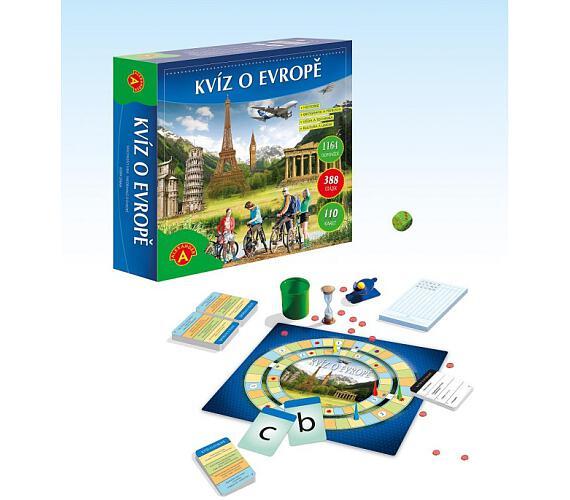 Kvíz o Evropě společenská hra v krabici + DOPRAVA ZDARMA