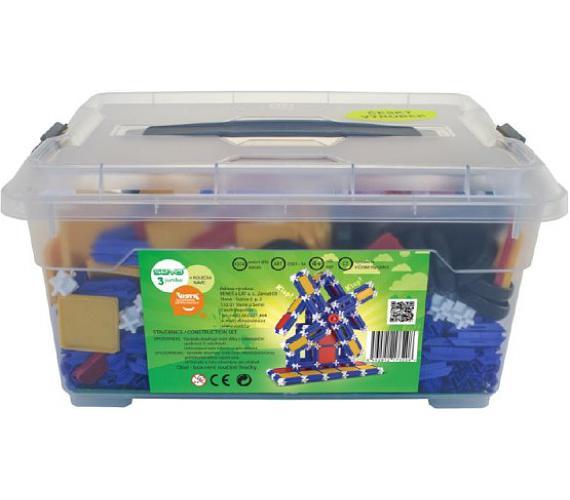 Stavebnice Seva 3 Jumbo plast 1074ks v plastovém boxu + DOPRAVA ZDARMA