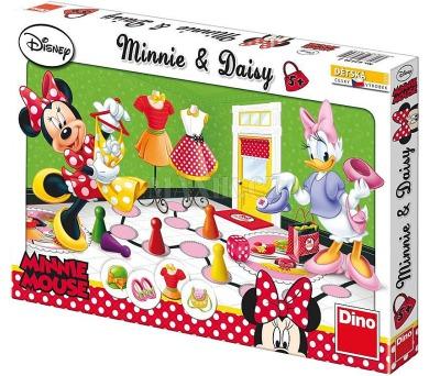 Minnie a Daisy společenská hra v krabici Walt Disney