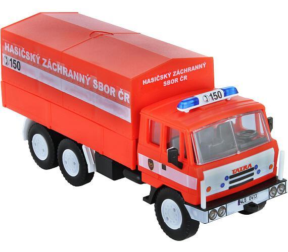 Stavebnice Monti 74 Tatra 815 hasiči ČR 1:48 v krabici 22x15x6cm