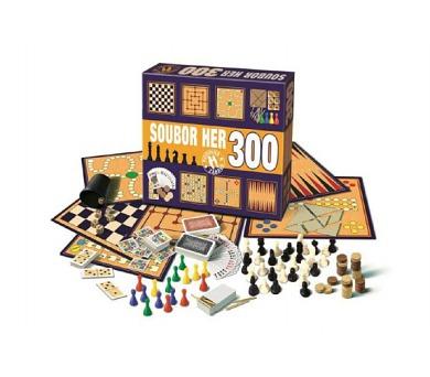 Soubor her 300 společenská hra v krabici 36,5x32x7,5cm + DOPRAVA ZDARMA