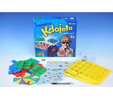 Inspektor Kdojeto společenská hra v krabici 30,5x29,5x7,5cm + DOPRAVA ZDARMA