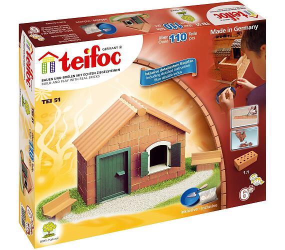 Stavebnice Teifoc Domek Daniel 110ks v krabici 35x29x4,5cm + DOPRAVA ZDARMA