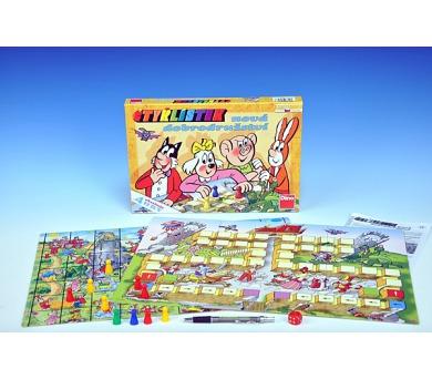Čtyřlístek nová dobrodružství soubor her 4 hry společenská hra v krabici 33x23x3,5cm + DOPRAVA ZDARMA