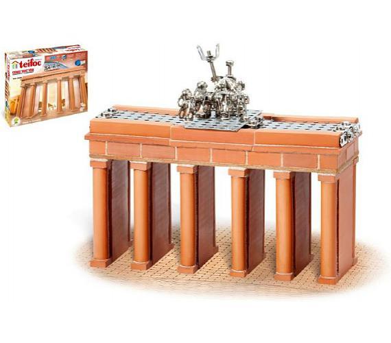 Stavebnice Teifoc Brandeburská brána 250ks v krabici 35,5x29x8cm + DOPRAVA ZDARMA