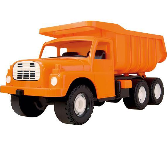 Auto Tatra 148 plast 73cm v krabici - oranžová + DOPRAVA ZDARMA
