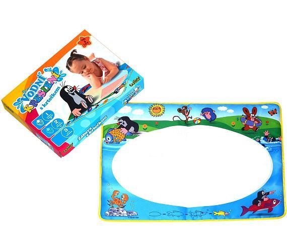 Vodní kreslení malování vodou s Krtečkem v krabici + DOPRAVA ZDARMA