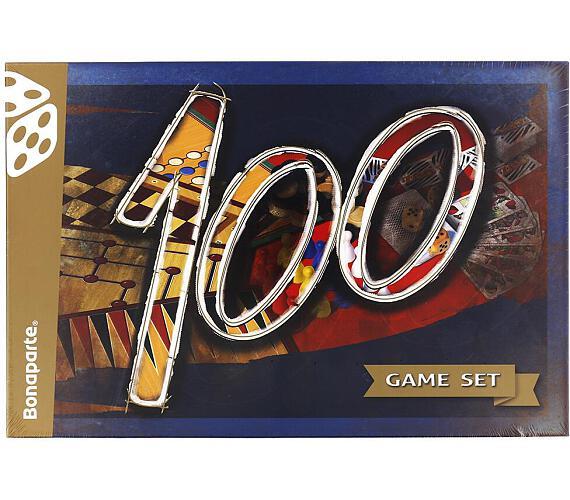Soubor her 100-společenská hra v krabici