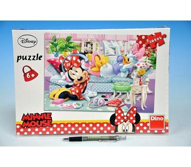 Puzzle Pohoda u Minnie XL 47x33cm 300 dílků v krabici 23x34x3,5cm