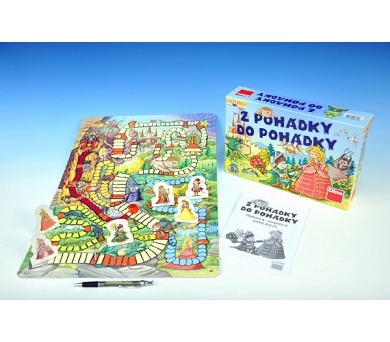 Z pohádky do pohádky nová společenská hra v krabici 29,5x20x6cm + DOPRAVA ZDARMA