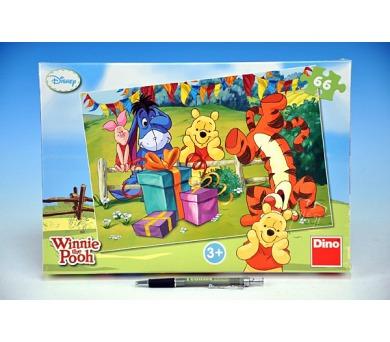 Puzzle Medvídek Pú Oslava 32,3x22cm 66 dílků v krabici 33x23x3,5cm