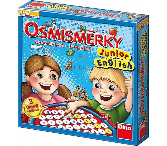 Osmisměrky Junior English společenská hra v krabici 27x27x7cm