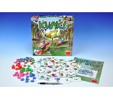 Hra Kvak společenská hra 30x30cm v krabici