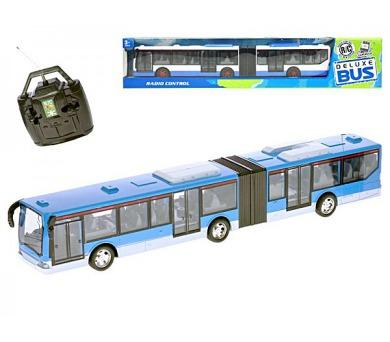 Autobus RC plast 44cm 27MHz na baterie plná funkce v krabičce + DOPRAVA ZDARMA