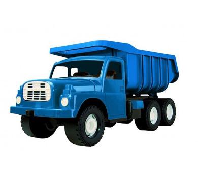 Auto Tatra 148 plast 73cm v krabici - modrá + DOPRAVA ZDARMA