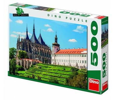 Puzzle Chrám sv. Barbory 47x33cm 500 dílků v krabici