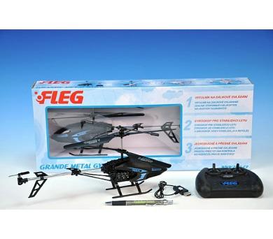 Vrtulník Fleg RC plast 32cm v krabici + DOPRAVA ZDARMA