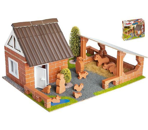 Stavebnice Teifoc Farma 180ks v krabici 35x29x8cm + DOPRAVA ZDARMA