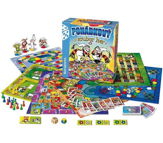 Pohádkový soubor her společenská hra v krabici 32x37x7cm + DOPRAVA ZDARMA