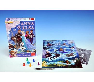 Ledové království/Frozen Anna a Elsa společenská hra v krabici 20x29,5x6,5cm + DOPRAVA ZDARMA