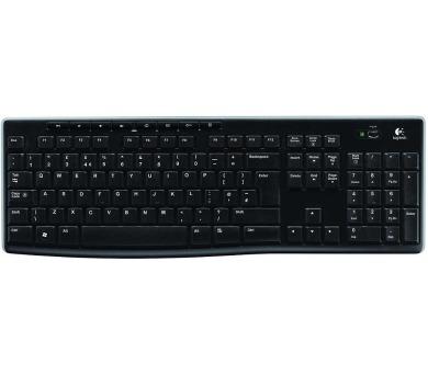 Logitech Wireless Keyboard K270 US - černá