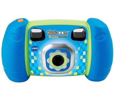 Kidizoom Kid Connect Fotoaparát - modrý Vtech plast 14cm na baterie na kartě + DOPRAVA ZDARMA