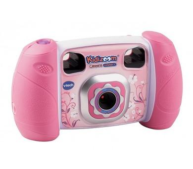 Kidizoom Kid Connect Fotoaparát - růžový Vtech plast 14cm na baterie na kartě + DOPRAVA ZDARMA