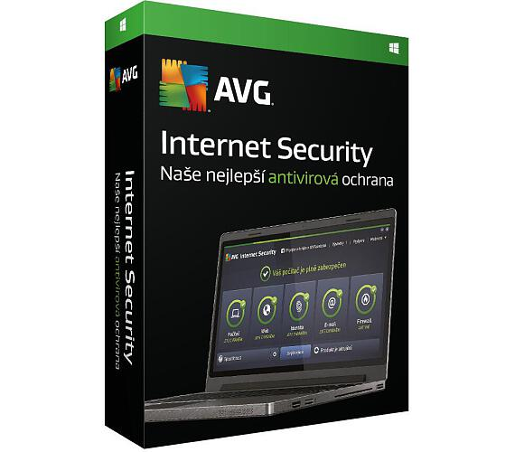 Software AVG Internet Security 2016 + DOPRAVA ZDARMA