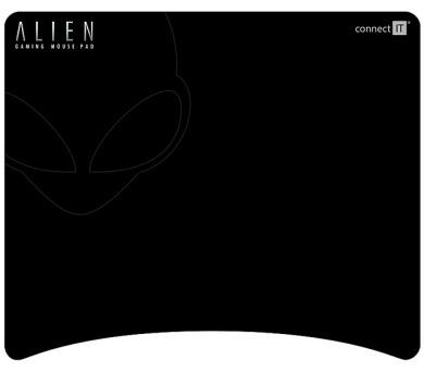 Podložka pod myš Connect IT Alien - černá