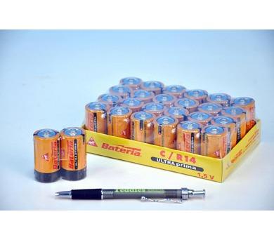Baterie Ultra Prima LR14/C 1,5V 2ks ve folii 12 ks v boxu zinkochloridové