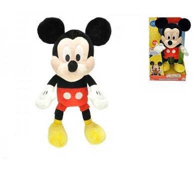 Mickey Mouse Clubhouse plyš 33cm na baterie 3xAG13 se zvukem v krabici 18m+ + DOPRAVA ZDARMA