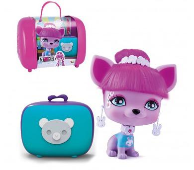 Mazlíček Lady Gigi 11cm VIP PETS 3. série s kufříkem a doplňky v krabičce