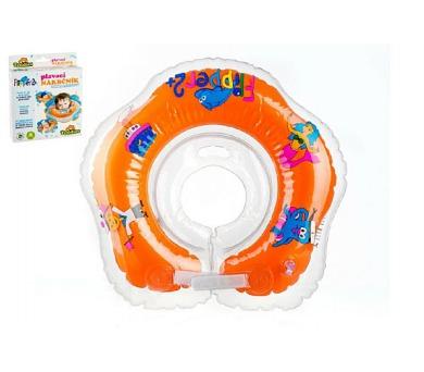 Plavací nákrčník Flipper/Kruh v krabici 24m+