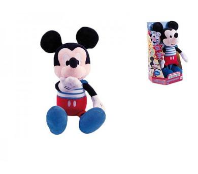 Mickey Mouse Clubhouse Kiss Kiss plyšový 32cm na baterie se zvukem 18m+ v krabičce + DOPRAVA ZDARMA