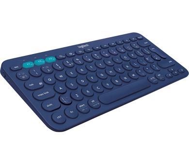 Logitech Bluetooth Keyboard K380 US - modrá