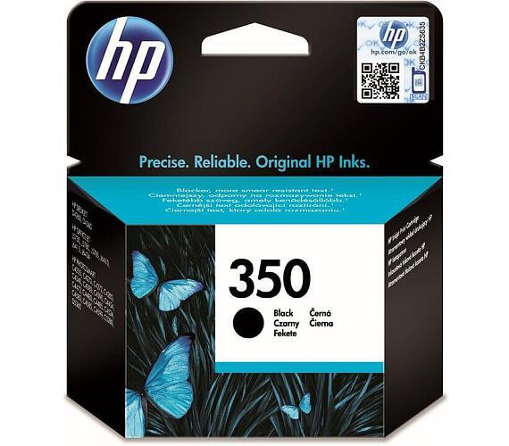 Inkoustová náplň HP No. 350