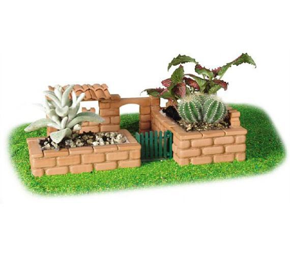 Stavebnice Teifoc Zahrada Paola 145ks v krabici 35x29x8cm + DOPRAVA ZDARMA