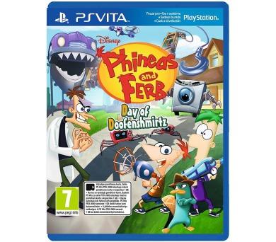 Sony PS VITA Phineas & Ferb Day of Doofensmirtz