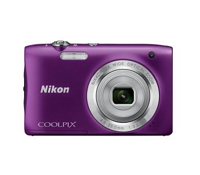 Nikon Coolpix S2900 fialový