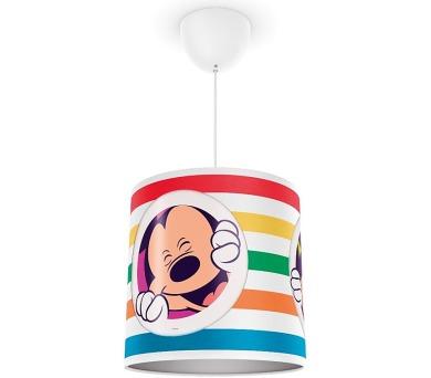 Disney Micky Mouse SVÍTIDLO ZÁVĚSNÉ E27 1x23W bez zdroje Philips 71752/30/16 + DOPRAVA ZDARMA