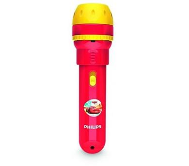 Disney Cars PROJEKTOR/BATERKA LED 0,1W vč.baterií Philips 71788/32/16
