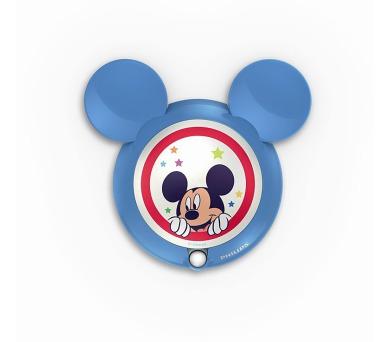 Disney Mickey NOČNÍ SVÍT. SE SENZOREM LED 0,06W bez baterií Philips 71766/30/16