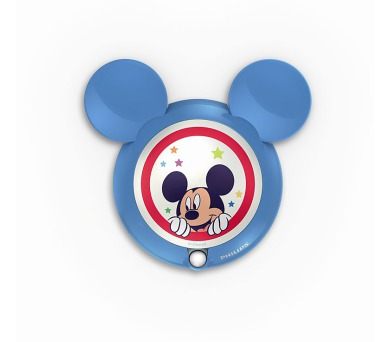 DISNEY SVÍTIDLO NOČNÍ SE SENZOREM MiCKEY Mouse Massive 71766/30/16