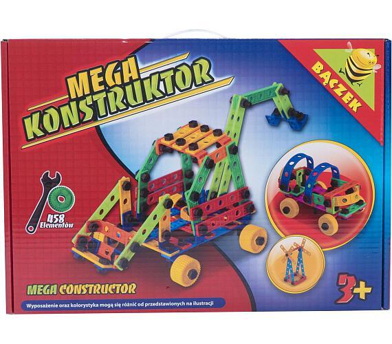 Stavebnice Variant Mega konstruktér 458 dílů v krabici 46x33x12cm + DOPRAVA ZDARMA